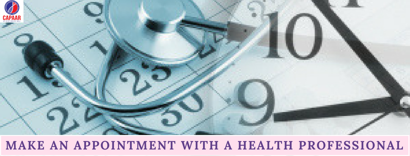 Make an appointment with a health professional | Best Autism treatment Bangalore