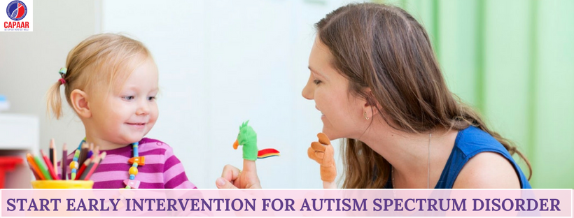 Start early intervention for autism spectrum disorder | Best Autism treatment Bangalore