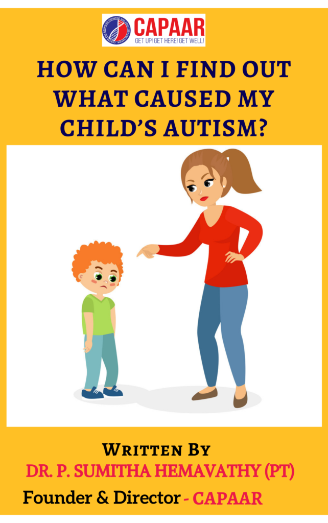 How Can I find out what Caused My Child's Autism_