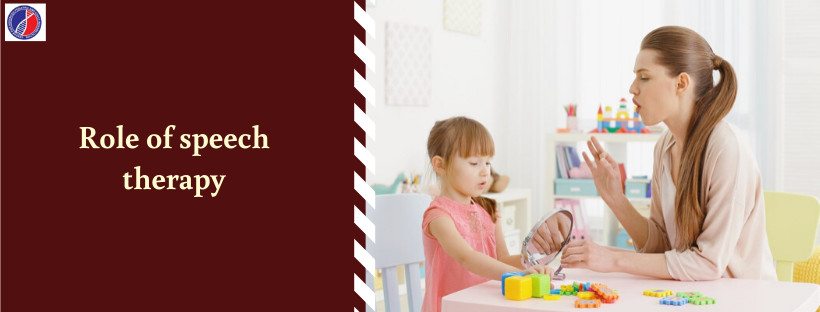 Role of speech therapy