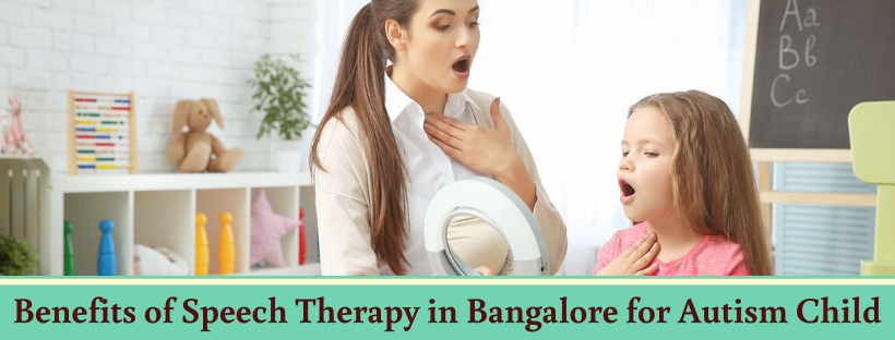 Speech Therapy in Bangalore for Autism Child