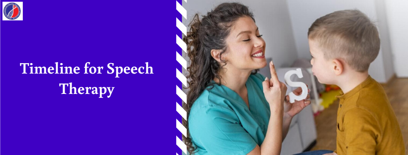 Timeline for Speech therapy | Speech therapy for Autism in Bangalore