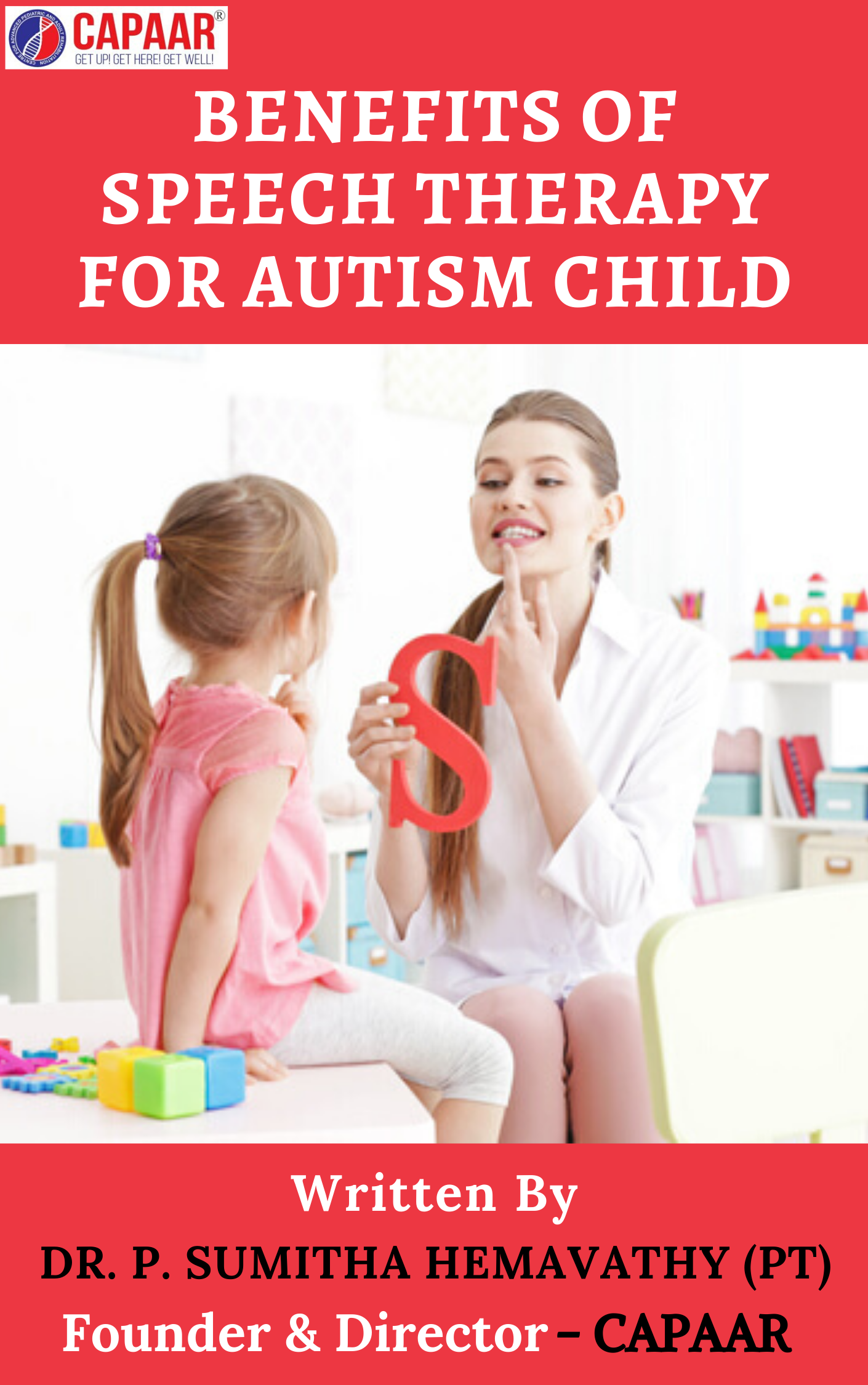 Benefits of Speech Therapy for Autism Child